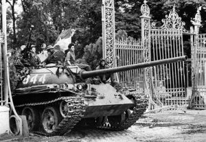 Tank through gates